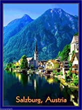 MAGNET Salzburg Austria Sound of Music European Europe Travel Advertisement Magnet 3