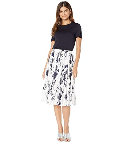 Ted Baker Bekzi Bluebell Mockable Midi Dress (Navy) Women