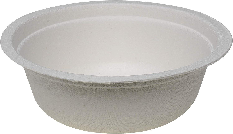 Dixie Molded Fiber Bowls, 12 oz by GP PRO (Georgia-Pacific), White, ES12BMF, 900 Count (50 Bowls Per Pack, 18 Packs Per Case)