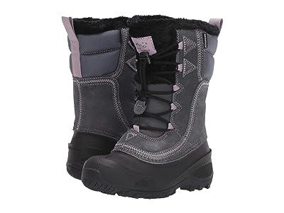 The North Face Kids Shellista Lace (Toddler/Little Kid/Big Kid) (Zinc Grey/Ashen Purple) Kids Shoes