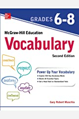 McGraw-Hill Education Mastering Vocabulary Grades 6-8, Second Edition Kindle Edition