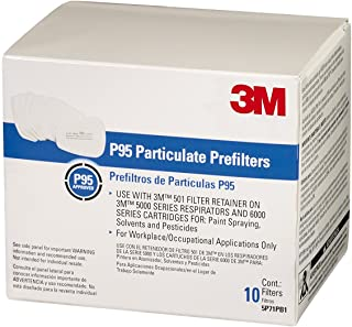 3M 5P71PB1 6000 Series Particulate Filter P95, 20 Pack