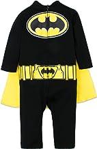 Warner Bros. DC Comics Mono de Batman con Capa Divertido Disfraz para Niño Pequeño - Negro 18 Meses