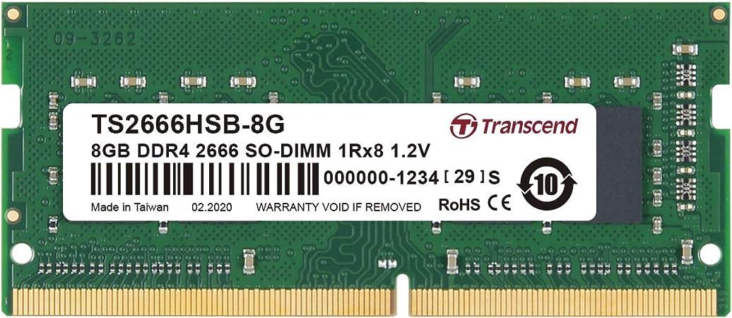 Transcend Ddr4 2666mhz 8 Gb Computers Accessories