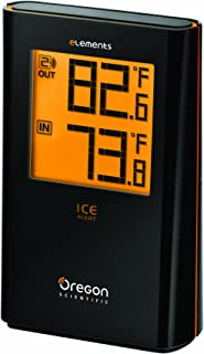 Oregon Scientific EW91 Wireless Indoor/Outdoor Thermometer with Ice Alert
