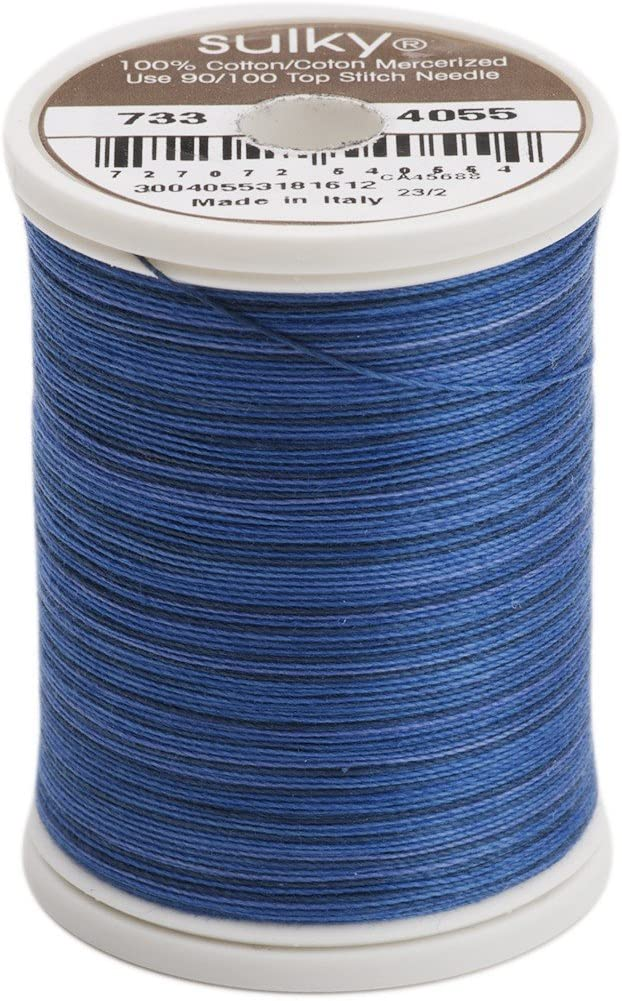 Sulky Blendables Thread for Sewing Royal 500-Yard Navy Max Max 45% OFF 73% OFF