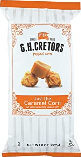 G.H. Cretors Popcorn Just The Caramel Corn, 8 Ounce