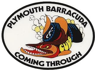 Nostalgia Decals Plymouth Barracuda Coming Through