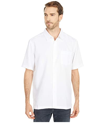 Quiksilver Waterman Centinela 4 Short Sleeve Shirt (White 2) Men