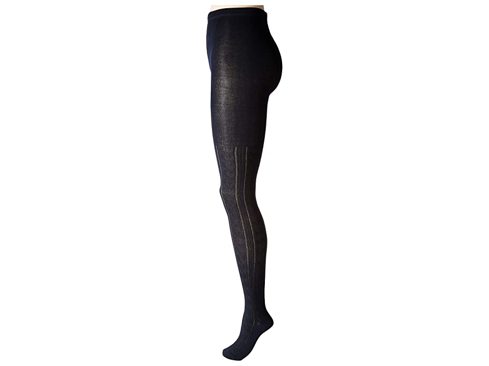 HUE Cable Sweater Tights (Navy) Hose