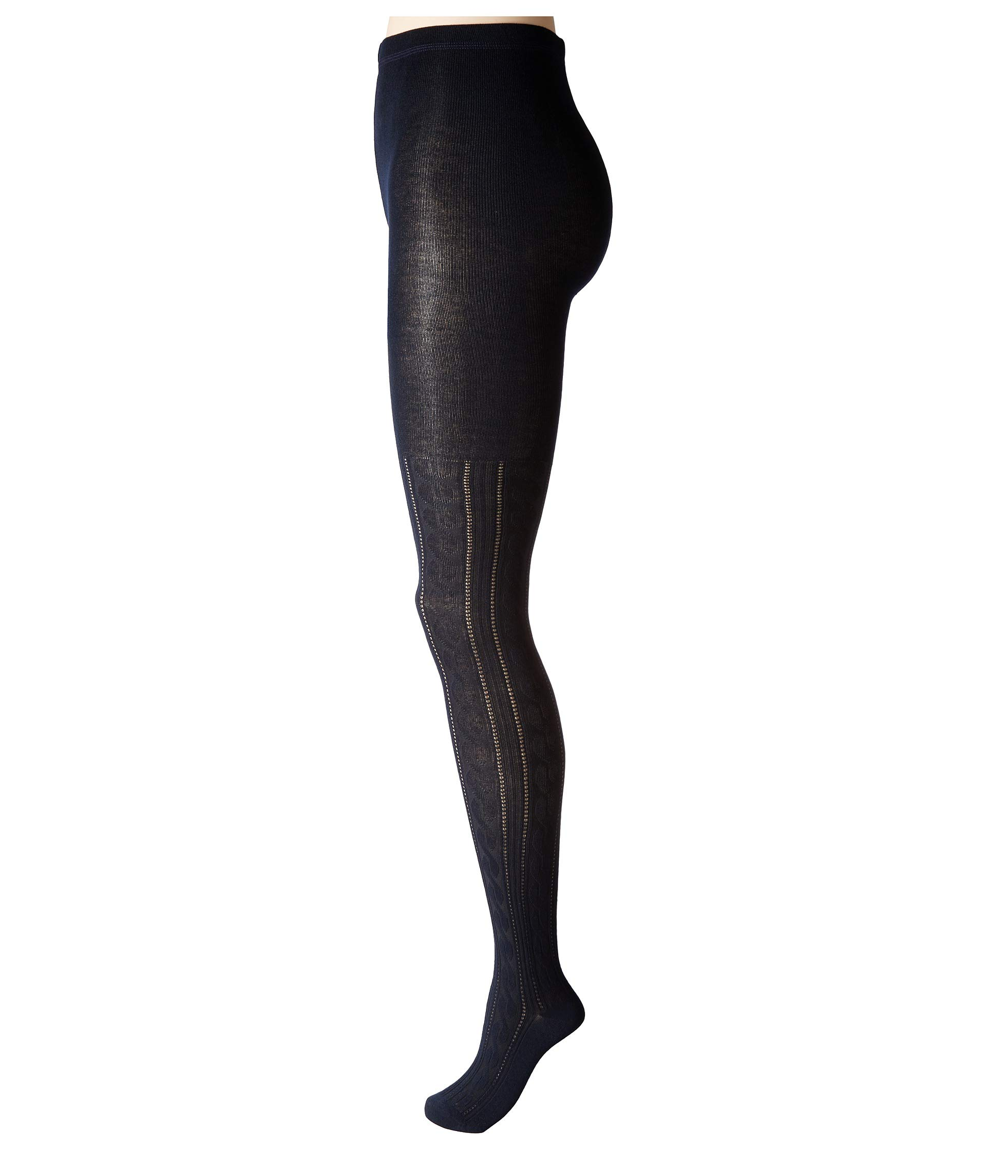 Sweater Hue Cable Cable Navy Sweater Hue Tights Tights Navy w4tYf