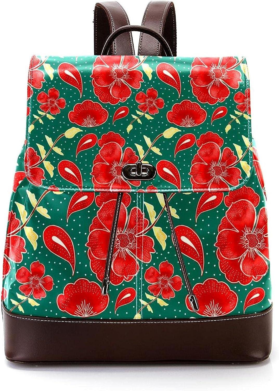 Women Leather Backpack Fashion Regular store Daypack Schoolbag Travel Rucksack 2021 new