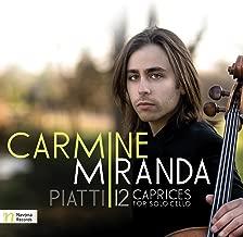 Piatti: 12 Caprices for Solo Cello, Op. 25