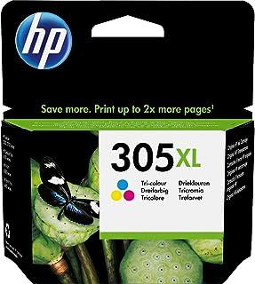 HP 305XL 3YM63AE, Tricolor, Cartucho de Tinta de Alta Capacidad Original, compatible con impresoras de inyección de Tinta ...