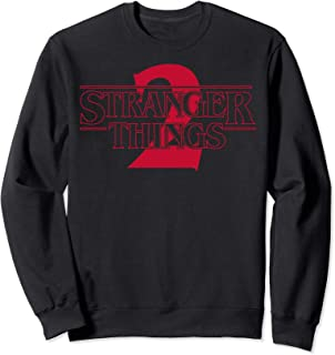 Netflix Stranger Things 2 Solid Logo Sweatshirt