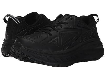 Hoka One One Bondi Leather (Black) Women