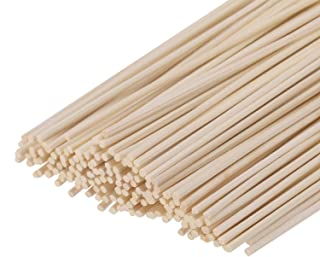 HOSSIAN Set of 100 Reed Diffuser Sticks - Wood Rattan-Reed Sticks -Diffuser Glass Bottles-Diffuser Refills- Spa-Aromatherapy(7