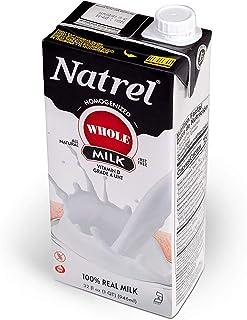 Natrel | Whole Milk | 32 Ounce | Pack of 12 | Shelf Stable Milk | Gluten-Free | Kosher | Non-GMO | No Refrigeration Needed...