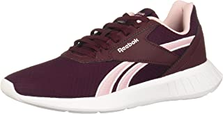 Reebok Lite 2.0 Contrast Sole Lace-Up Running Shoes for Women - Maroon, 40.5 EU