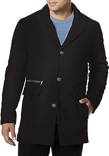 CALVIN KLEIN Men's Cashmere Blend Wool Coat