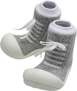 Attipas Sneaker Baby Walker Shoes, Grey, X-Large