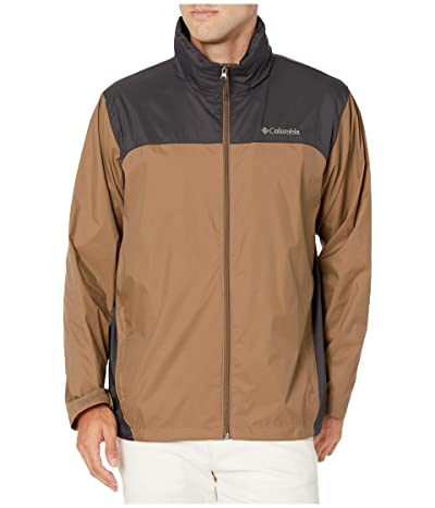 Columbia Glennaker Lake Rain Jacket (Delta/Shark) Men