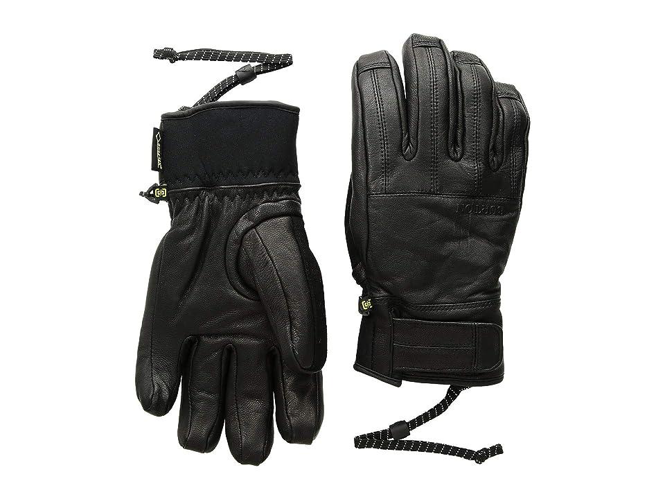 Burton Gondy GORE-TEX(r) Leather Glove (True Black 1) Extreme Cold Weather Gloves