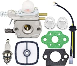 Carburetor for Echo Trimmer - C1U-K29 C1U-K47 C1U-K52 SRM2100 SRM2110 SHC1700 SHC2100 with Repower Kit for Power Pruner Trimmer - Repalces Zama Carburetor Kit