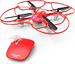 GoolRC T100 Mini Drone RC Quadcopter with Gesture Control 3D Flips One-Key Motion Controlling Function Play for Fun Level
