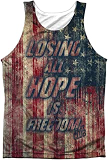 Fight Club Men's Losing Hope Mens Tank White