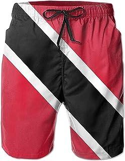 Bandera de Trinidad y Tobago Hombres Bañadores de Secado rápido Pantalones Cortos de Playa Pantalones