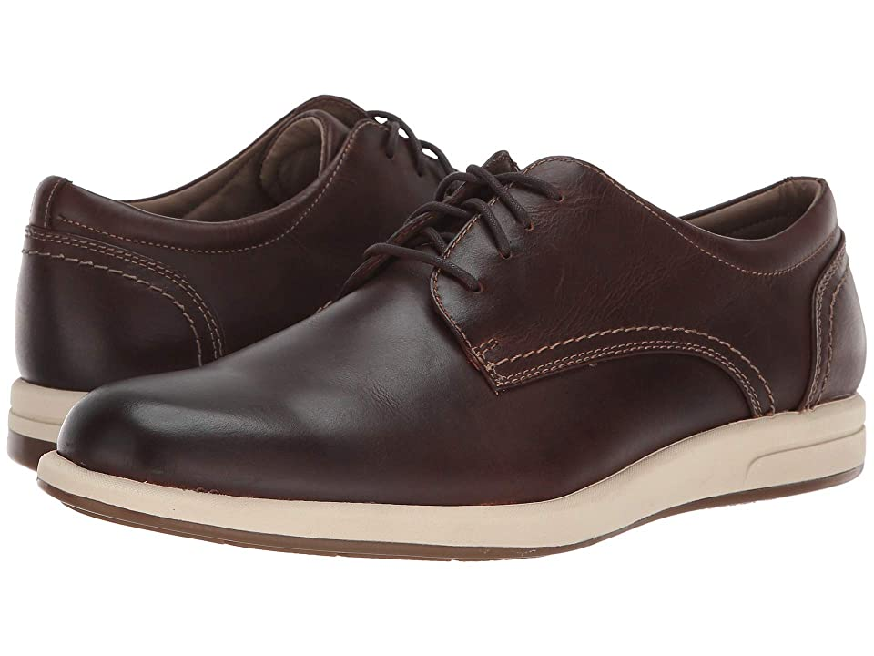 Dockers Parkview (Red Brown Waxy Distressed Full Grain) Men