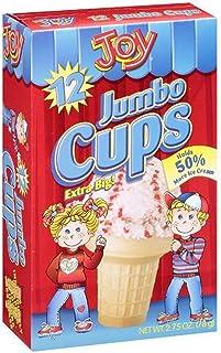 JOY REGULAR CAKE ICE CREAM CUP 1.75 OZ