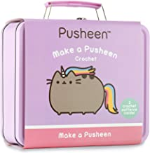 Pusheen the Cat Crochet Set: Make two adorable Pusheen Cat designs with this all inclusive crochet kit packaged in a Pusheen storage case