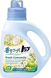 香りつづくトップ フレッシュカモミール 柔軟剤入り洗剤 蛍光剤無配合 洗濯洗剤 液体 本体 900g
