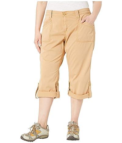Aventura Clothing Plus Size Addie V2 Capris (Iced Coffee) Women