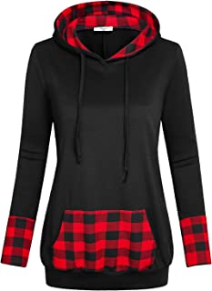 Best buffalo plaid hooded sweatshirt Reviews