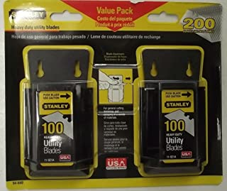 Stanley Utility Blades (200-Pack)
