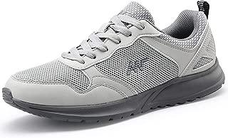 VILOCY Men's Sneakers Athletic Sport Running Training Walking Shoes Graphene Grip Sole