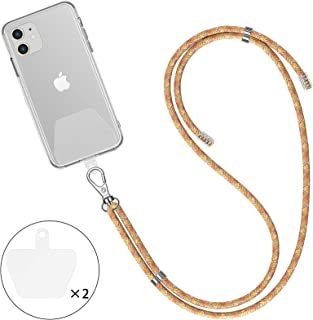 uxcell Mobile Phone Mp4 Lobster Clasp Nylon String Strap Pink 50 Pcs