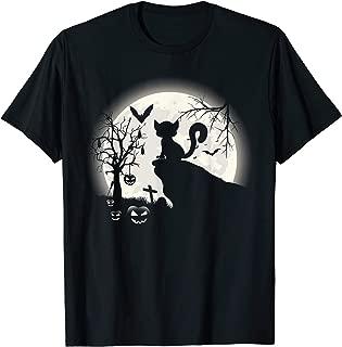 Funny Lemur And Moon Halloween Costume Gift T Shirt T-Shirt