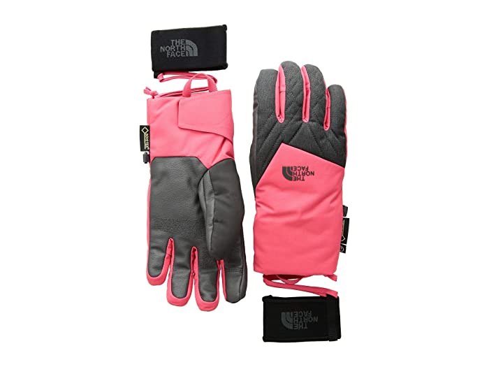 The North Face Montana Gore-Tex(r) SG Gloves (Teaberry Pink/TNF Dark Grey Heather) Gore-Tex Gloves
