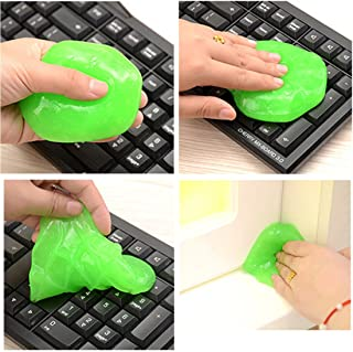 Dooppa - Limpiador de polvo reutilizable para teclados, teléfonos móviles y ordenadores (color al azar)