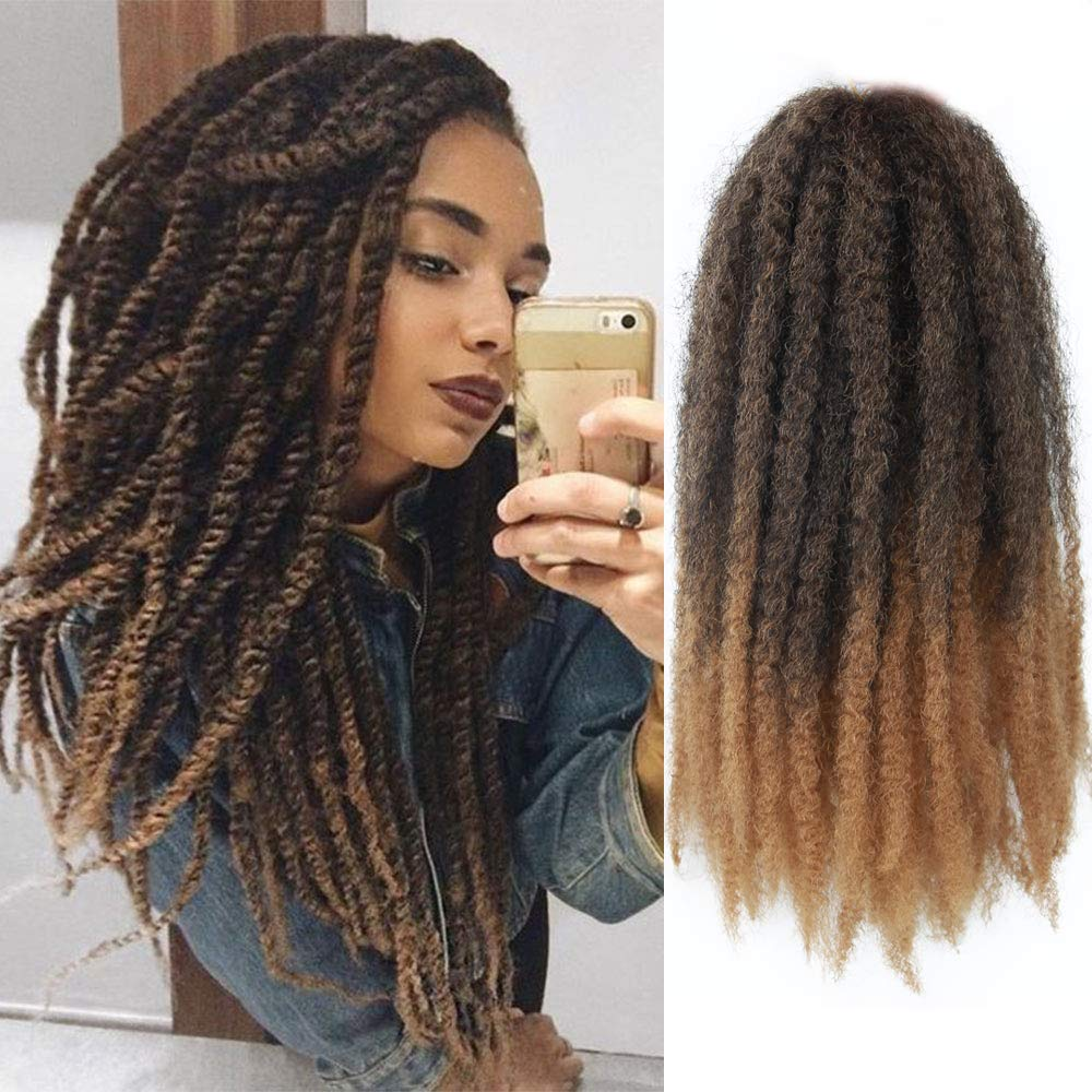 GX Beauty 4 Packs Marley Hair Curly Outlet SALE Crochet Kinky I Afro 18 El Paso Mall