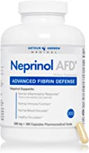 Arthur Andrew Medical - Neprinol AFD, Advanced Fibrin Defense, Natural Inflammatory Response, Immune Function, and Healthy Circulation, Vegan, Non-GMO, 300 Capsules