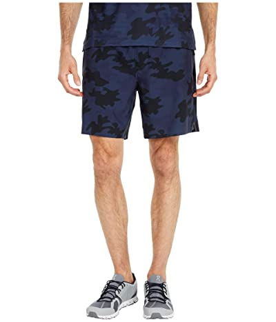 Rhone 7 Swift Shorts Lined (Navy Camo) Men