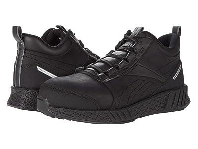 Reebok Work Fusion Flexweavetm Work Composite Toe (Black/Black) Men