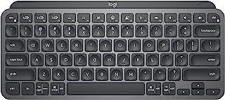 Logitech MX Keys Mini Minimalistisch, Draadloos Verlicht Toetsenbord, Compact, Bluetooth, USB-C, Compatibel met Apple macO...