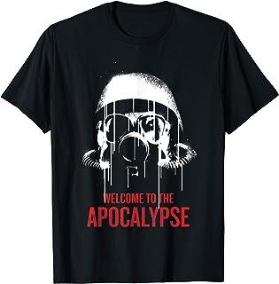 Netflix Daybreak Gas Mask Welcome To The Apocalypse T-Shirt