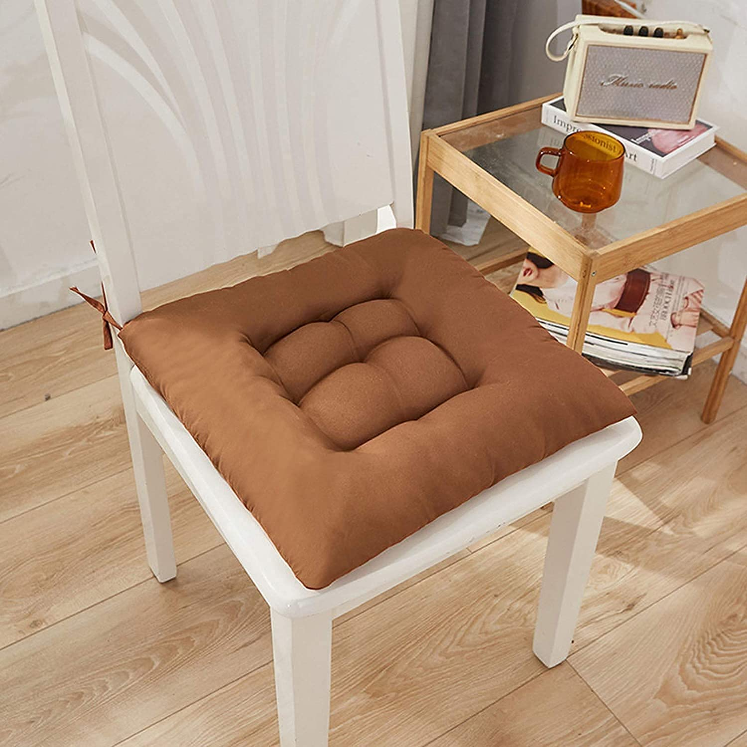 wwqasdfv Comfortable Indoor Outdoor Chair C Soft All items free shipping Cushions Square Memphis Mall